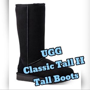 Ugg Classic II Tall Boots Size 6
